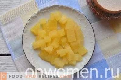 Bouchées à l'ananas
