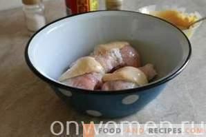 Pilons de poulet rôtis à la mijoteuse