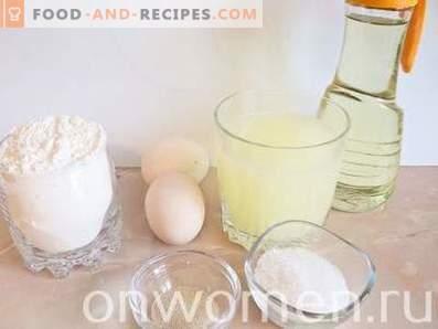 Crêpes sur lactosérum