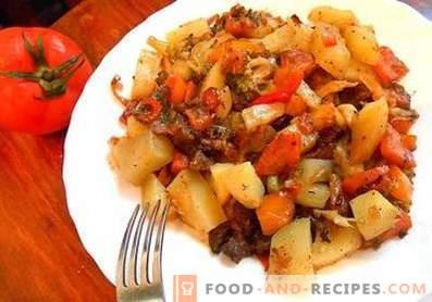 Ragoût de légumes aux courgettes