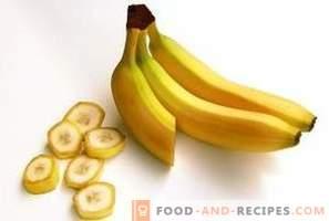 Банани: ползи и вреди за организма