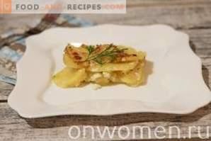 Gratin de pommes de terre à l'ail