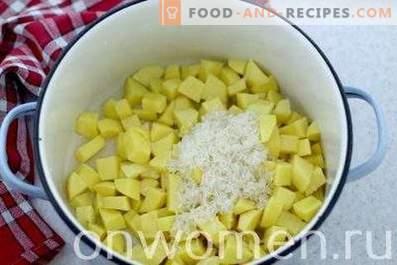 Soupe au fromage fondu