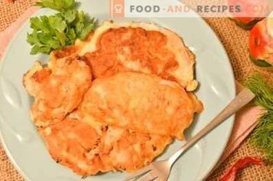 Petto di pollo fritto in pastella di kefir