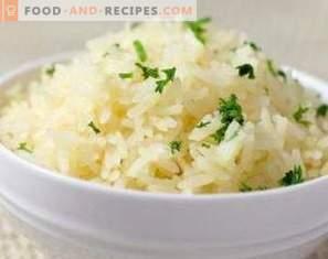 calories de riz