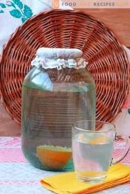 Comment enrouler la sève de bouleau avec de l'orange