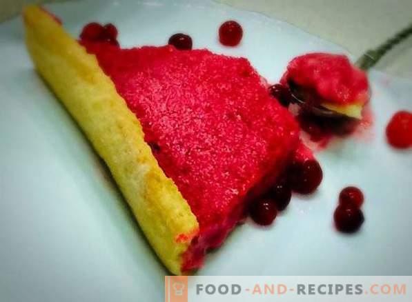 Gâteau à base de pâte sablée