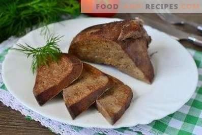 Comment faire cuire le foie de porc