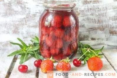 Compote de fraises pour l'hiver