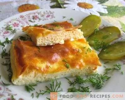 Comment faire cuire une omelette au four