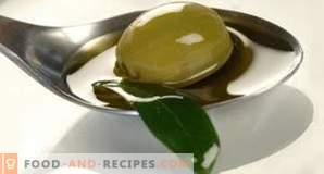 Teneur en calories de l'huile d'olive