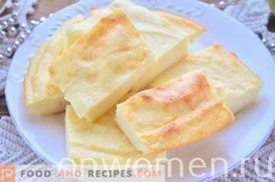 Casserole de fromage cottage, comme à la maternelle