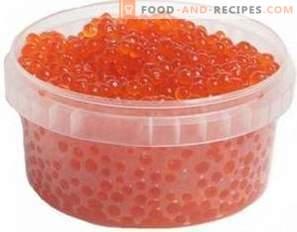 Comment mariner le caviar de truite