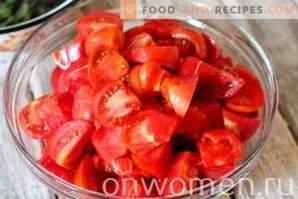 Sauce tomate pour l'hiver