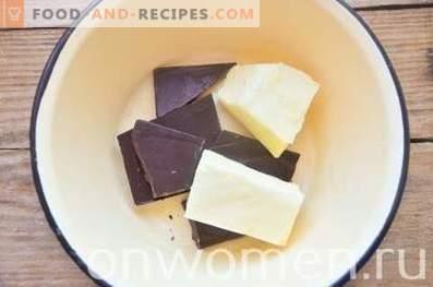 Brownies aux cerises et au fromage blanc