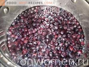 Confiture d'Ambronne-Chokeberry aux Pommes