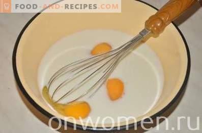 Crêpes au fromage cottage et à la banane