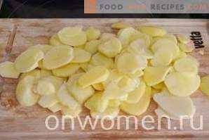 pomme de terre au four avec pommes de terre