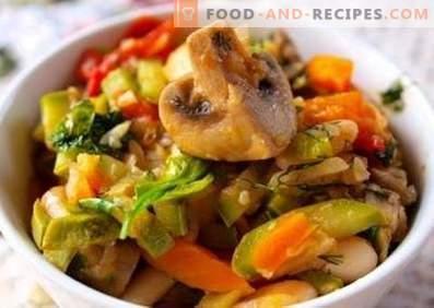 Ragoût de légumes aux champignons