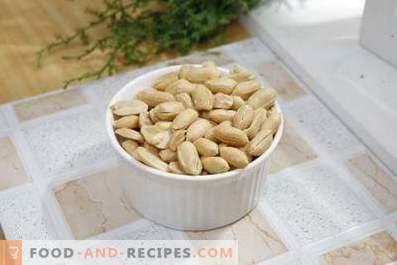 Comment faire frire les cacahuètes au four