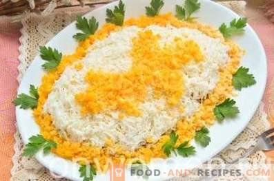 Salade aux oeufs de Pâques au poulet