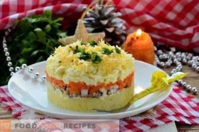 Salades de linde en conserve