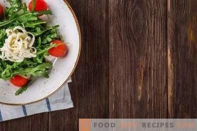 Salades pour le dîner