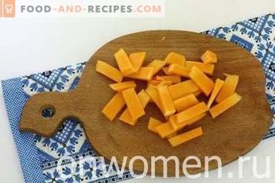 Casserole de pâtes au potiron