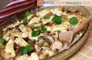 Comment faire cuire le poulet aux champignons
