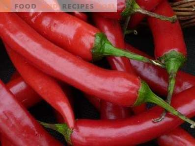 Comment conserver le piment rouge