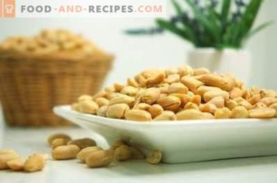 Comment faire frire les cacahuètes au micro-ondes