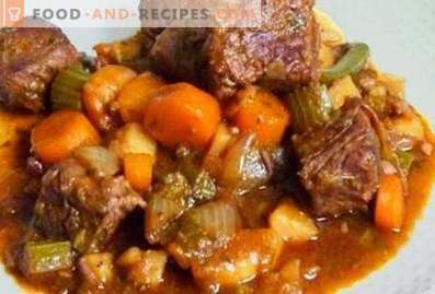 Agneau cuit avec des légumes dans une mijoteuse