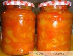 Lecho à la pâte de tomate pour l'hiver