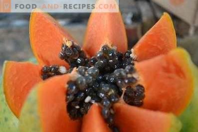 Comment manger de la papaye