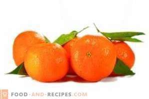Comment conserver les mandarines