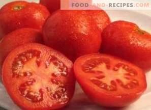 Calories de tomates