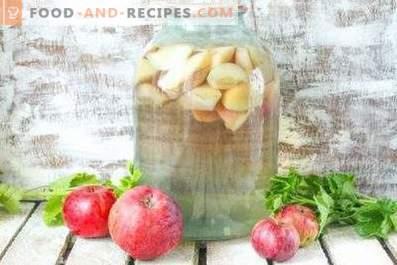 Compote de pommes pour l'hiver