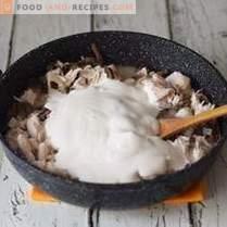 Sauce universelle au poulet et aux champignons