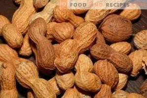 Cacahuètes grillées: bien et mal