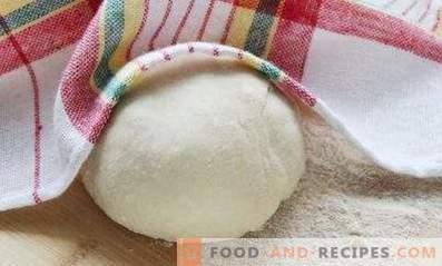 Тесто за бели на кефир