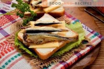 Sandwichs Sprats