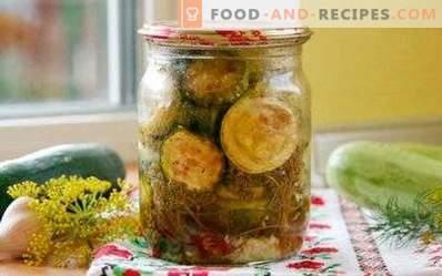 courgettes frites pour l'hiver