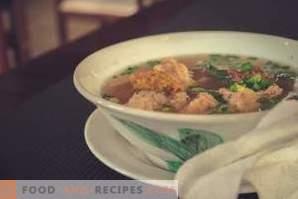 Que faire si la soupe est salée
