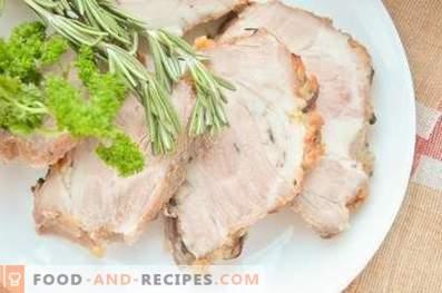 Cou de porc cuit à l'oignon