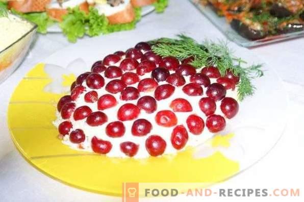 Salade Tiffany au Poulet et Raisins