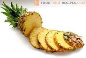 Ananas: avantages pour la santé et les dommages