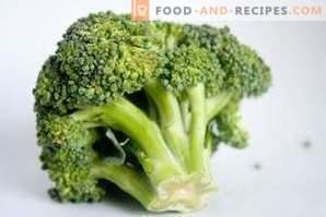 Comment congeler le chou-brocoli