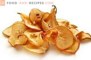 Comment sécher les poires à la maison