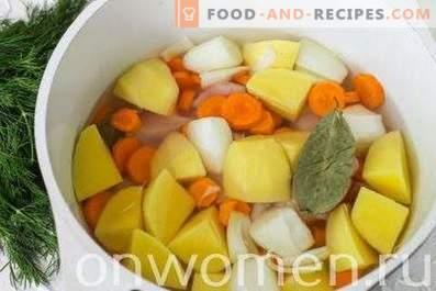 Ragoût de légumes au filet de poulet