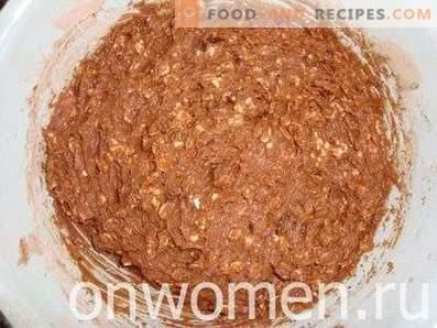 Biscuits au chocolat et à l'avoine